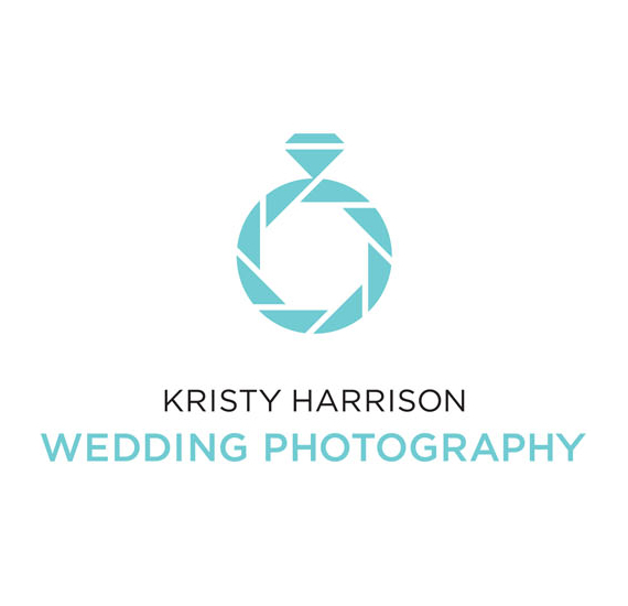 Kristy Harrison Wedding Photography Logolog wit and lateral